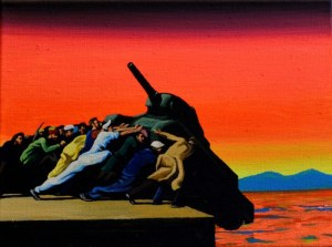 vrede is geen kunst afbeelding